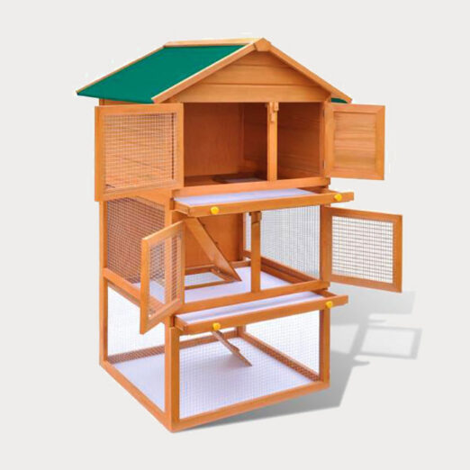 Rabbit cage pet house European standards Size 92x 80x 160cm 06-0006 Rabbit cage pet house European standards Size 92x 80x 160cm 06-0006