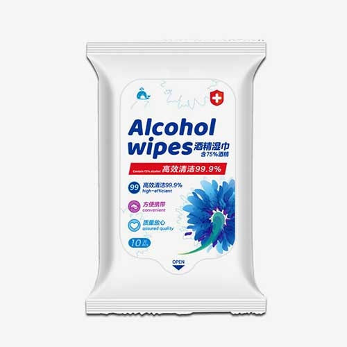 50pcs 75% Disinfectant Wet Wipes Alcohol 76% Custom Alcohol Wipe 06-1444-2 50pcs 75% Disinfectant Wet Wipes Alcohol 76% Custom Alcohol Wipe 06-1444-2